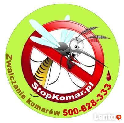 Skuteczne zwalczanie komarów -oprysk terenów Warszawa