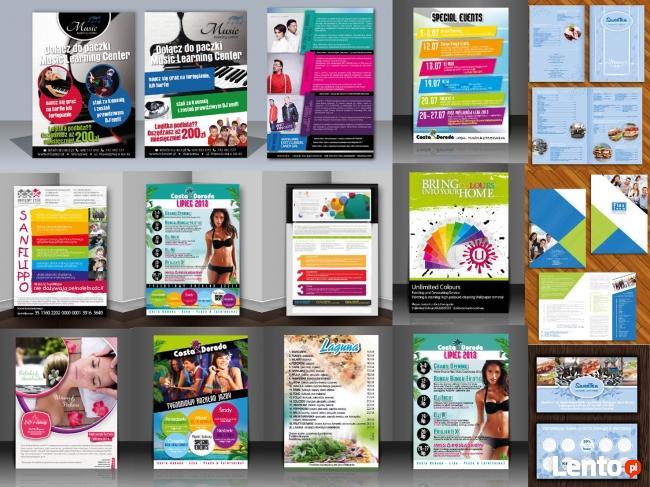 Projekty Graficzne Strony Www Logo Ulotki Plakat Wiz