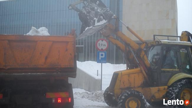 Wywóz śniegu Olsztyn