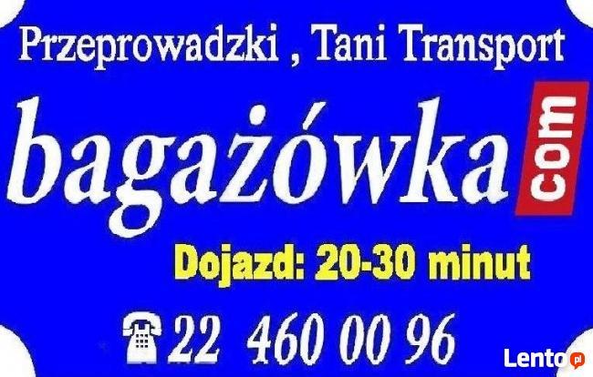 Przeprowadzki, Bagażówki Warszawskie, Usługi Transportowe