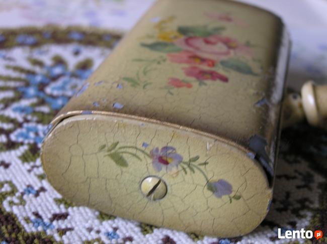 1920 Szczotka do tapicerki malowana ręcznie ANTYK