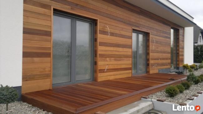 Cena elewacji drewnianej