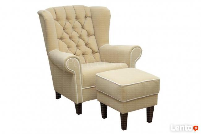 oferuje fotele uszaki , sofy podnozki od producenta