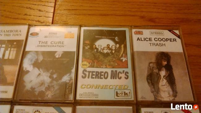 Kasety magnetofonowe - różni wykonawcy