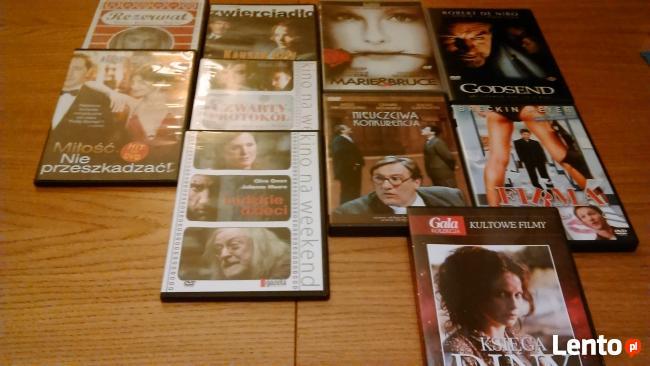 Filmy na DVD różne tytuły