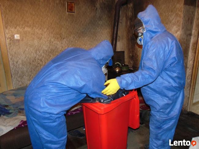 Biuro Vector-42 649 81 48 Sprzątanie mieszkań po zwłokach