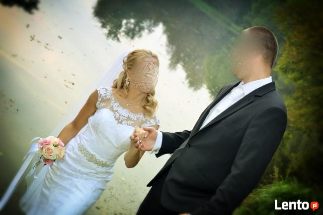 Koronkowa suknia ślubna + GRATISY!!!
