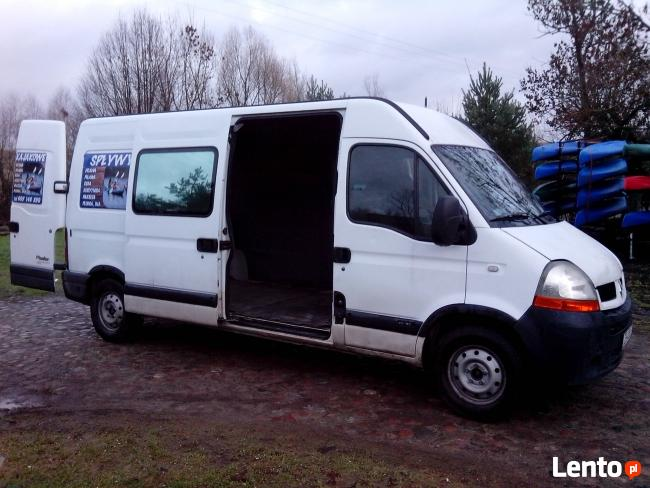 Renault Master 2,5 DCI L3H2 9 osobowy