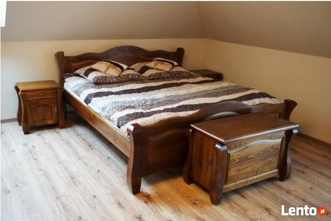 Łóżko 160 DREWNIANE z Kolekcji LOVE,Meble Drewniane-HIT