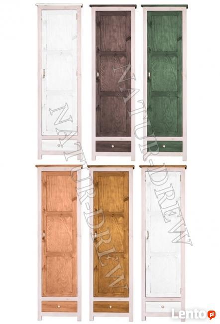 Szafa 1 z Kolekcji Modena Z LITEGO DREWNA,Meble Drewniane