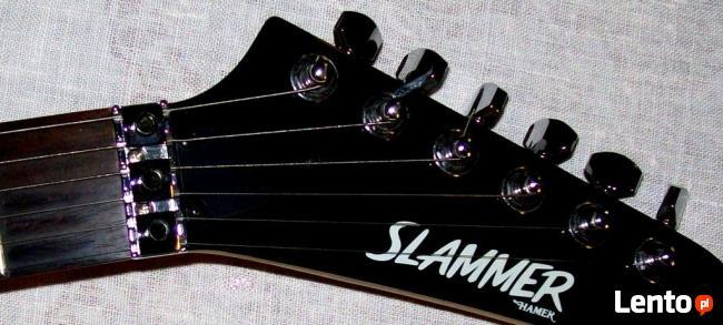 Profesjonalna gitara HAMER mod. SLAMMER