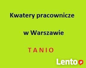 Stancje i pokoje dla brygady pracowników.W-wa Targówek.Tanio