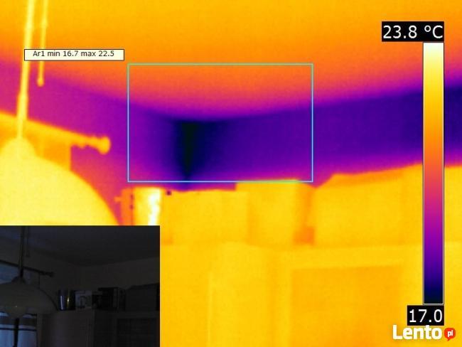 Termowizja, badanie kamerą termowizyjną budynków