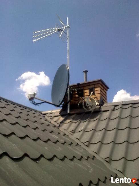 Ożarów Mazowiecki serwis montaż Anten DVBT satelitarnych
