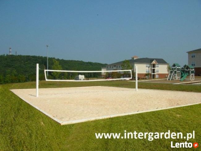 Budowa boisk do gry w bule, plażówki