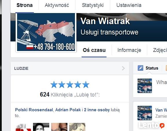 Busy do Holandii z Olsztyna i okolic z adresu pod adres