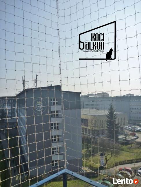 Siatka na Balkon Kocia siatka zabezpieczająca KOCIBALKON