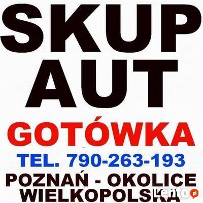 SKUP AUT - Swarzędz, Kostrzyn, Poznań - tel. 790-263-193