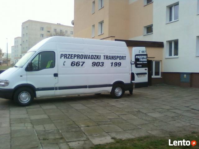 Przeprowadzki Usługi Transportowe Tanio Solidnie 667-903-199
