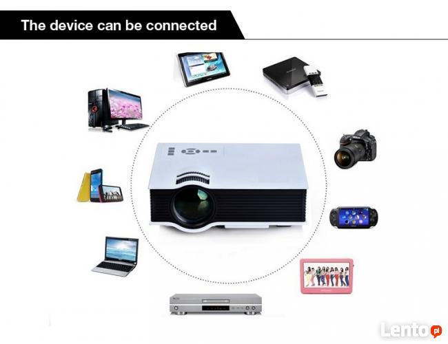 PILNE !! Projektor Rzutnik Multimed. LED HDMI USB XBOX PS 4