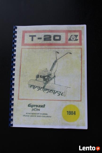 Terra, Vari- Książka serwisowa skrzyni T-20
