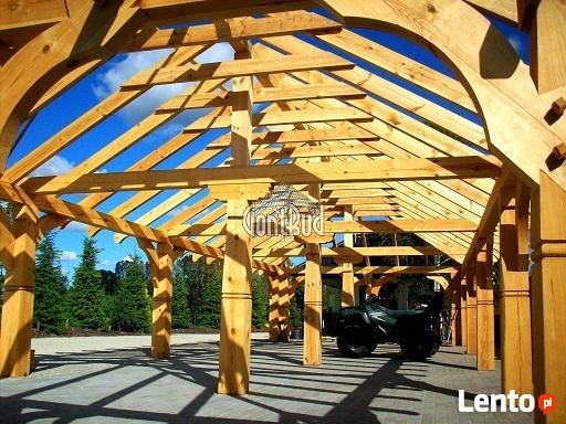 GONT-BUD Altana 4x6m, Garaż Drewniany, Pergola, Domek, Wiata