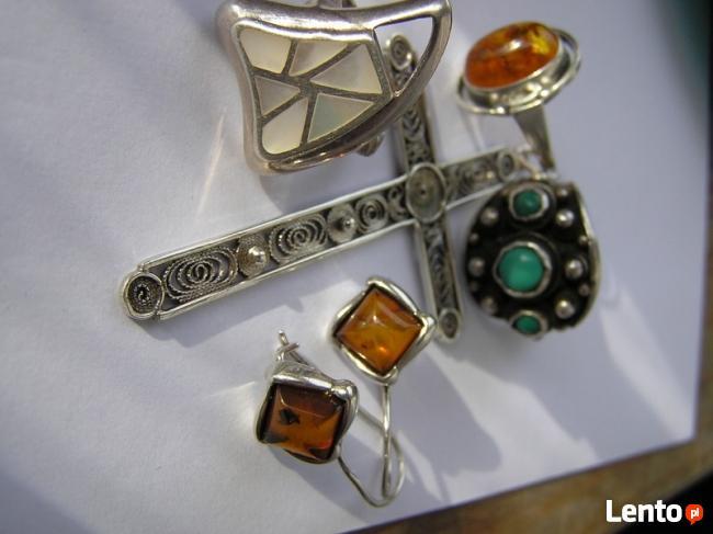 IMAGO ARTIS NavajoSrebrna biżuteria stara PIERSCIONKI turkus