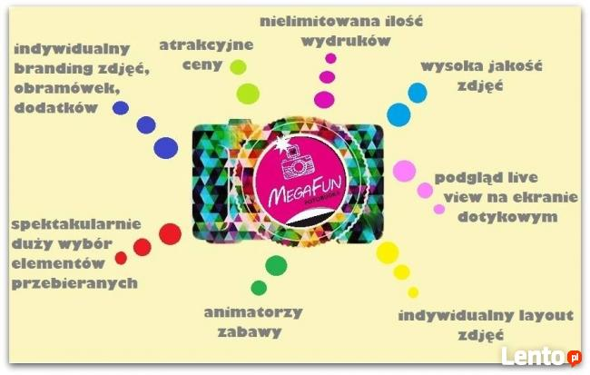 Fotobudka MegaFun na Twoją imprezę! PRZASNYSZ