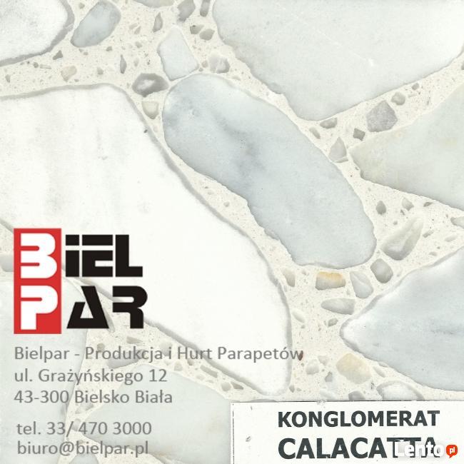 Konglomerat Botticino - PARAPETY , SCHODY , BLATY ŁAZIENKOWE