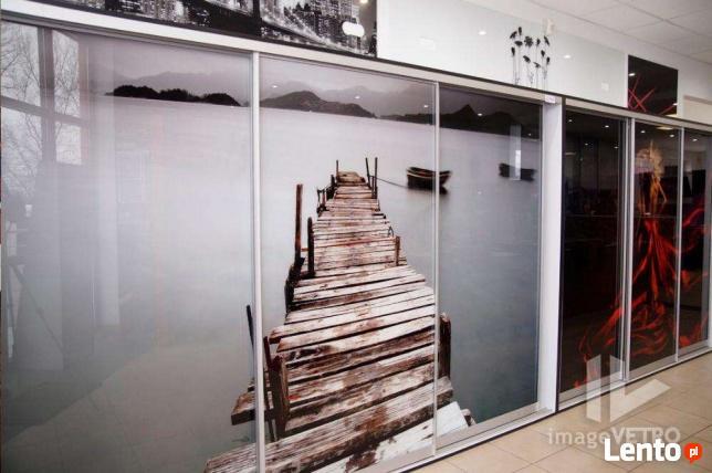 szafy pod zabudowe drzwi przesuwne grafika w szkle. Black Bedroom Furniture Sets. Home Design Ideas
