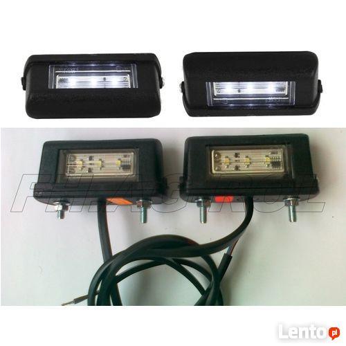 Lampy oświetlenia tablic rejestracyjnych uniwersalne LED
