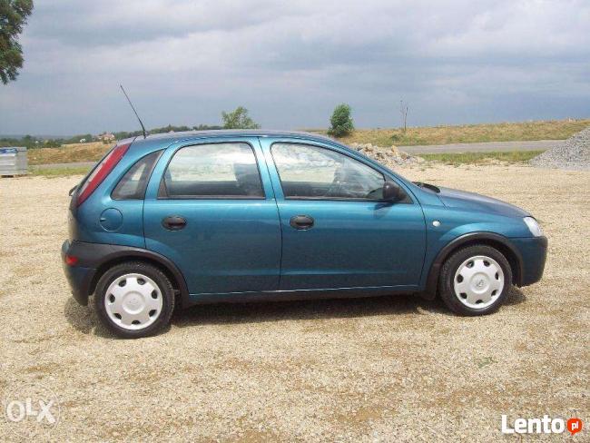Opel Corsa C:maski,błotniki,drzwi,zderzaki,lampy,szyby,tłumi