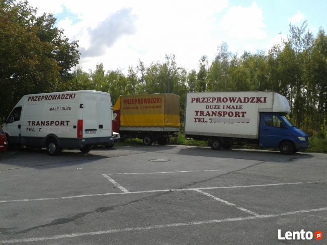 Przeprowadzki PERFEKT, transport, zero stłuczek najtaniej!!!