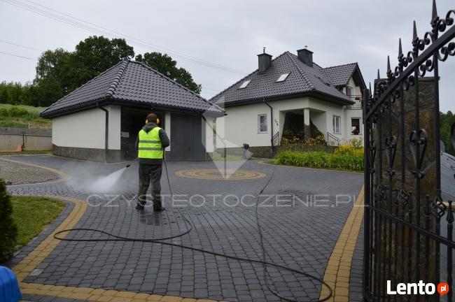 Wysokociśnieniowe mycie kostki brukowej Tarnów | klinkieru |