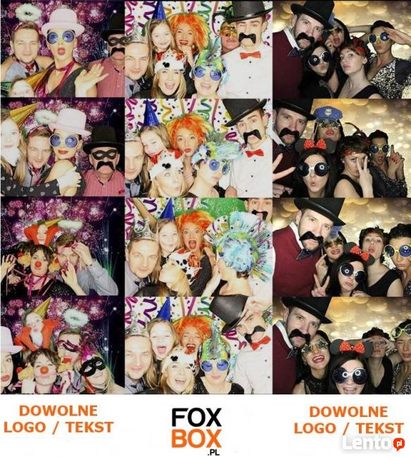 Fotobudka FOXBOX.PL 2.5 h 650 zł zdjęć BEZ LIMITU!!!