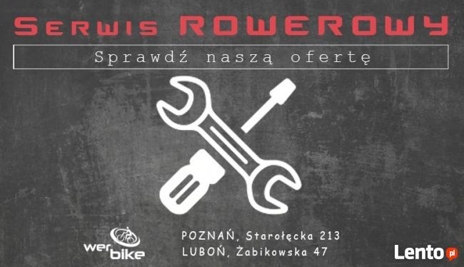 Naprawa rowerów - serwis Poznań - Luboń