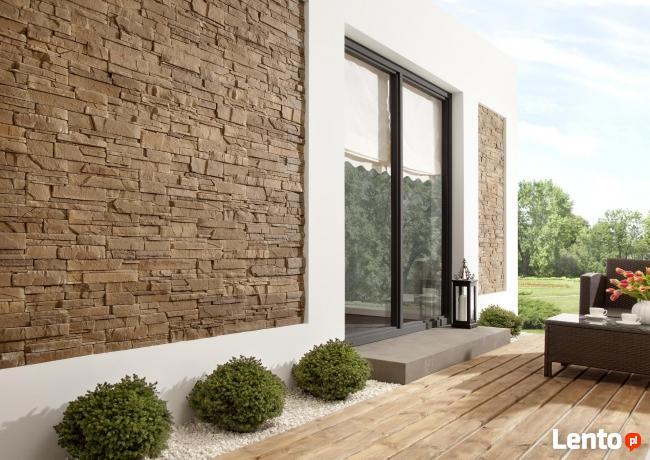 Kamień Dekoracyjny Naturalny - Płytki Ozdobne Panel 3D Cegły