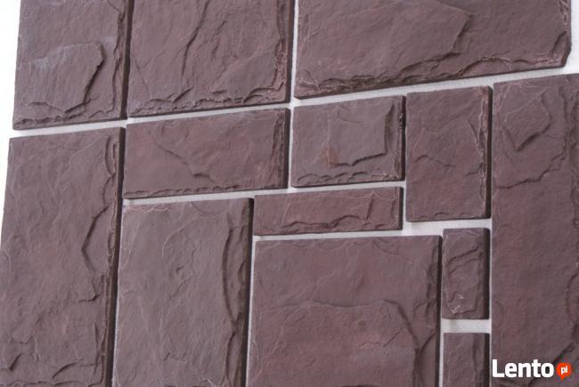 Kamień Dekoracyjny Ozdobny Elewacyjny CEGŁA Z FUGĄ PANELE 3D