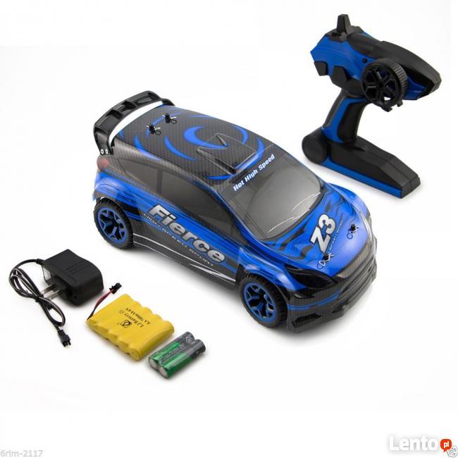 Samochód Rc Auto 1:18 2,4 GHz Extrem Napęd 4x4