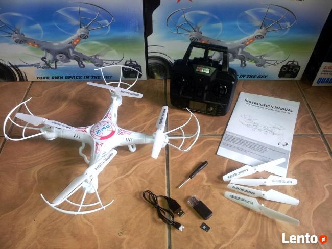 Dron z kamerą Quadrocopter X5c-1
