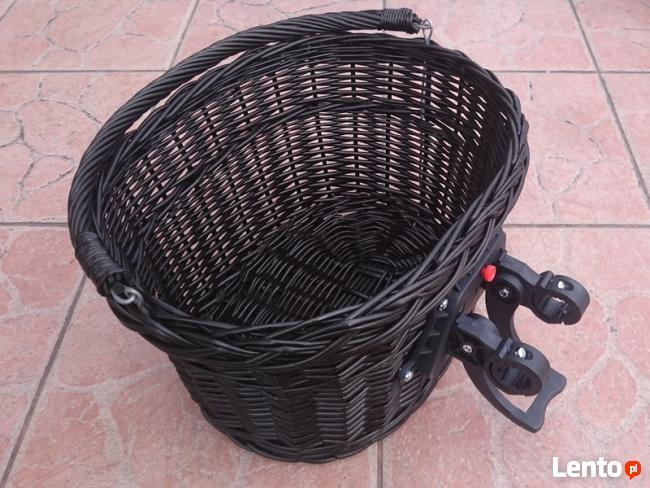 Koszyk rowerowy wiklinowy, metalowy // DUŻY WYBÓR //Wysyłka