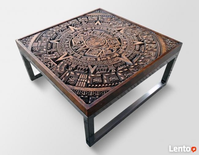 Bardzo dobra Stolik drewniany, Ława, Stolik kawowy DESIGN LOFT STYLE Radom RK03