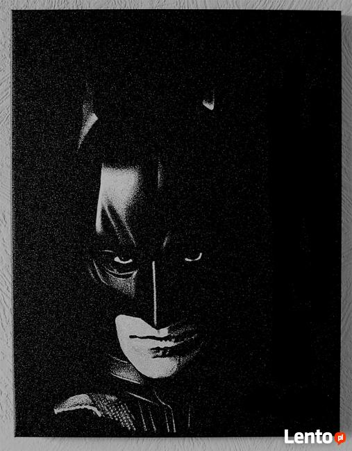 Batman | obraz na blasze... | grawerka
