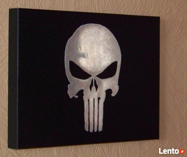 Punisher | obraz na blasze... | grawerka