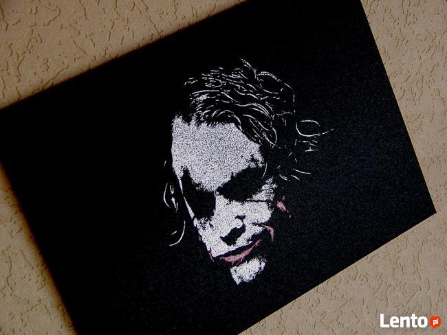 Joker - Obraz na blasze... grawerka