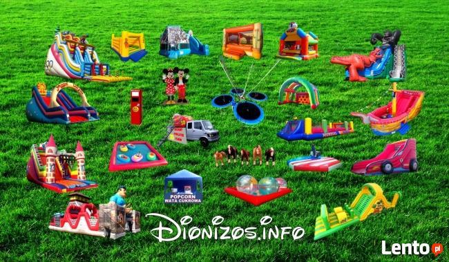 Atrakcje dla dzieci Dionizos.info Dmuchance zjezdzalnie kule