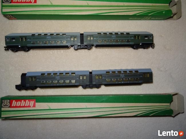 Modele kolejowe Berliner TT-Bahnen (duży zestaw)