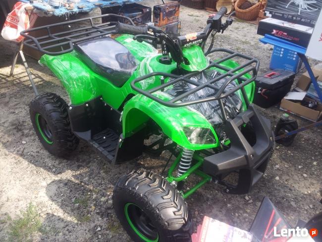 Quad ATV 125 cm3 automat + wsteczny M Pyton PILOT ALARM