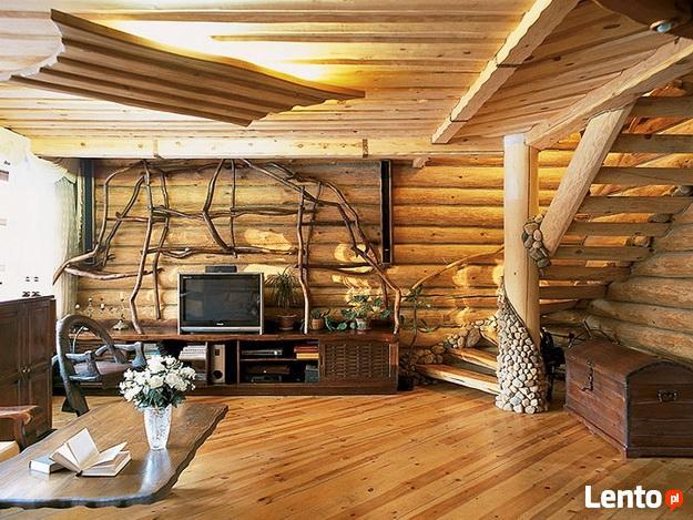 Produkcja, montaz domow z bali, wiat, garazy, sauny