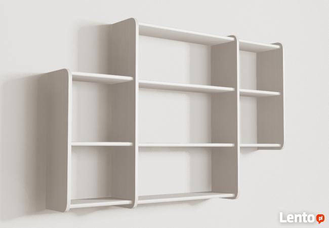 Półki wiszące Detalion na książki cd półka wisząca Warszawa